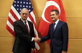 Bakan Canikli ve Mattis arasında kritik görüşme