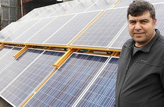 Kahramanmaraşlı girişimci üretti 30 yıl elektrik faturası yok