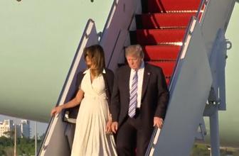 First Lady'nin hareketi Trump'ı şoke etti
