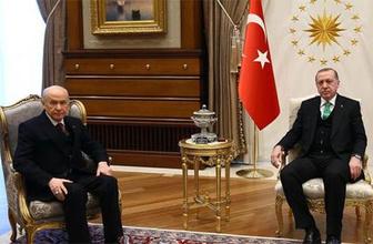 Erdoğan-Bahçeli görüşmesi sona erdi! İttifakın adı ne oldu?