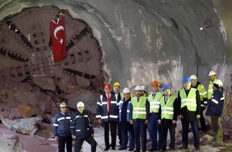 Dudullu-Bostancı Metro Hattı tünelleri birleşti