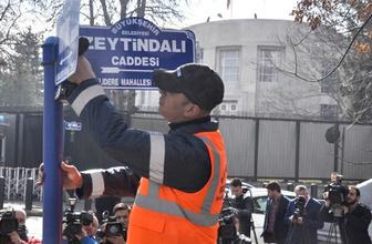Ankara Büyükşehir dediğini yaptı bugün tabelayı astı