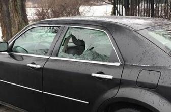 Türkiye'nin Stockholm Büyükelçilik aracına saldırı