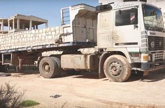 Afrin'e girerken durdurulan ABD konvoyundan çıkanlara bakın!