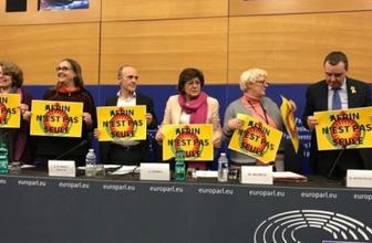 Avrupa Parlamentosu'nda Afrin skandal!