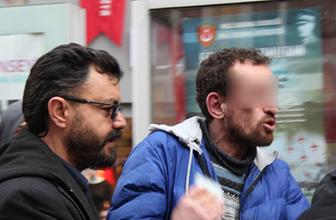 Tramvay tacizcisini polis vatandaşın elinden zor aldı