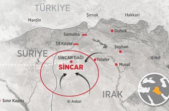 Sincar boşalıyor PKK'ya 10 gün süre