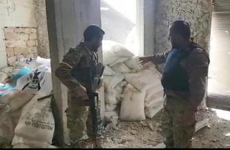 Raco'da teröristlerin bomba imalathanesi bulundu