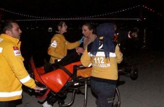 Sarıyer'de tuhaf olay taksiden inen kadın...