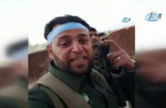 Afrin temizlendi ÖSO askerleri böyle sevindi