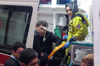 Kadıköy'de polise kürekli saldırı! Yaralılar var
