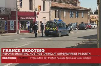 Fransa'da süpermarkette rehine krizi bitti saldırgan vuruldu