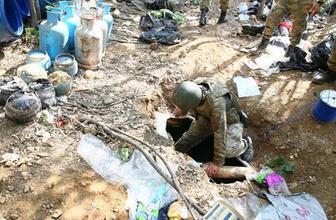 Tunceli'de PKK sığınaklarına operasyon