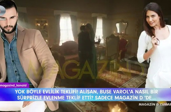 Alişan'dan Buse Varol'a  olay evlilik teklifi!