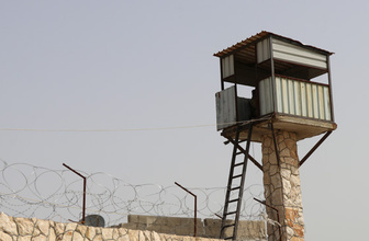 Afrin merkez hapishanesini görüntüledi