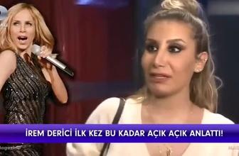 Sertab Erener konserini izleyen İrem Derici'den olay sözler