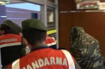 Sınırda yakalanan Yunan askerlerinden bu görüntü çıktı
