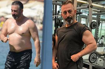 Cem Yılmaz'ın değişimi 12 kilo verdi