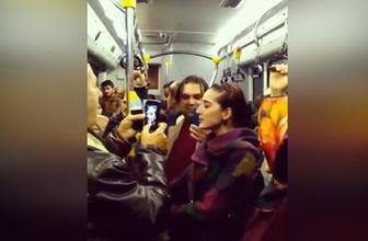 Otobüste herkesi hayran bırakan türkü