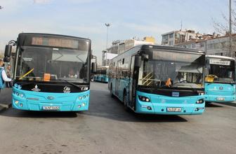 Özel halk otobüsleri bugün çalışmıyor İETT'den flaş duyuru