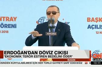 Cumhurbaşkanı Erdoğan'dan flaş dolar açıklaması