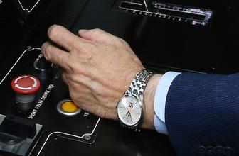 Erdoğan'ın saatinde dikkat çeken detay