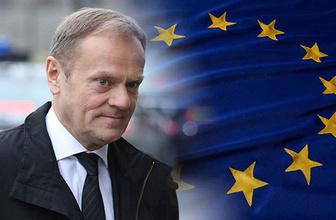 Bir destek de Avrupa Birliği'nden geldi