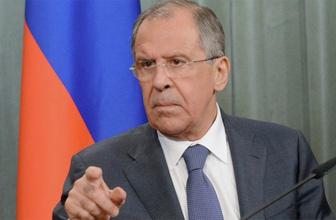 Lavrov'dan çok sert tepki: Kabul edilemez
