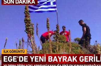 Ege'de yeni bayrak krizi