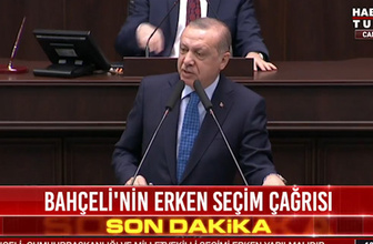 Erken seçim olacak mı Erdoğan'dan flaş açıklama!