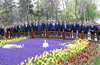 Başkan Uysal, İstanbul'daki başkonsolosları lalelerle buluşturdu!