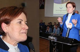 Meral Akşener göz yaşlarını tutamadı