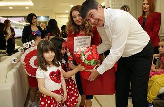 Miniklerden Başkan Türel'e ziyaret