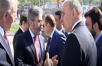 Taksim'deki 23 Nisan kutlamasında gerilim! Çifte tepki...