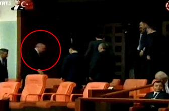 Cumhurbaşkanı Erdoğan Meclis'i terketti! Yaşananlar rezalet...