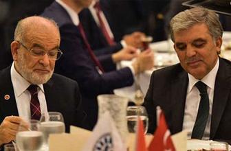Bomba iddia! 50 AK Parti milletvekili istifa edip Saadet'e geçecek ve...