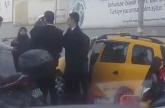 İstinye'de taksicinin fazla para istediğini iddia etti, ortalığı karıştırdı