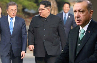 Erdoğan'dan Kore zirvesine destek: Memnuniyet duydum