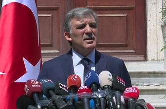 Abdullah Gül'e AK Parti'den ilk yanıt