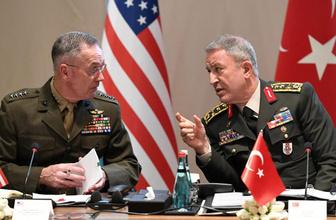 Orgeneral Akar ve ABD Genelkurmay Başkanı Menbiç'i konuştu...