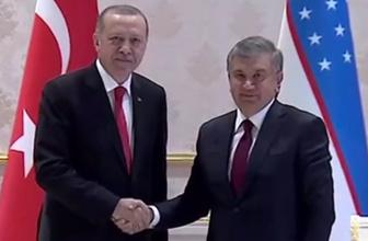 Türkiye ile Özbekistan arasında tarihi anlaşmalar