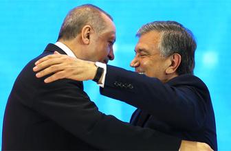 Özbek liderden Türk iş adamlarına açık çek