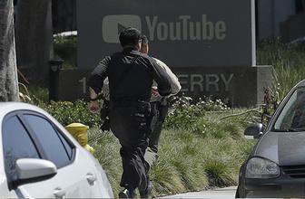 YouTube'un merkezine silahlı saldırı
