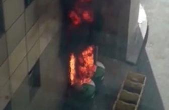 Hastane yangının nedeni 'alev alan su ısıtıcısı' iddiası!