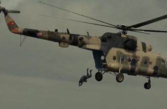 Jandarma MI-17 helikopteriyle bir ilke imza attı