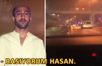 Kendi ölümünü çekti... 'Basıyorum Hasan'