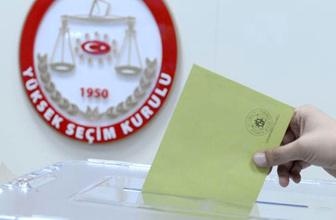 Cumhurbaşkanı seçimi kesin aday listesi yayımlandı