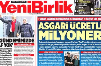 13 Mayıs 2018 günü hangi gazete ne manşet attı?.. İşte günün manşetleri...