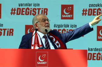 Karamollaoğlu seçim stardını Sivas'tan verdi