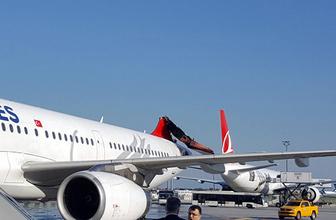 İstanbul'da korku dolu dakikalar: Uçaklar çarpıştı!